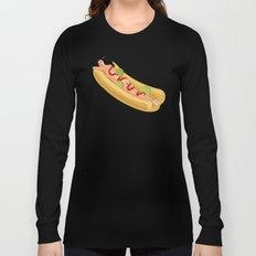 Hot Dog Girl Long Sleeve T-shirt