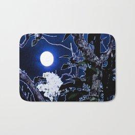 Mystical Moon and Viburnum Bath Mat