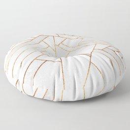 White Night Floor Pillow