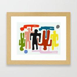 Meyna Framed Art Print