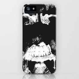 GNARLY FACE iPhone Case