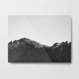Montaña dentro Metal Print