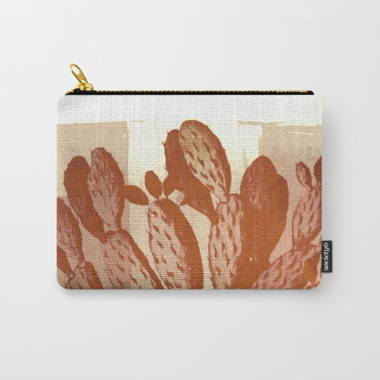 cactus vintage tones Carry-All Pouch