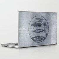 running Laptop & iPad Skins featuring Running by Paul Simms