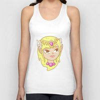 the legend of zelda Tank Tops featuring  Zelda  by HypersVE
