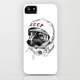 laika, space traveler iPhone Case