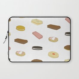 biscui - biscuit pattern Laptop Sleeve