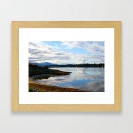 Goose spit Framed Art Print