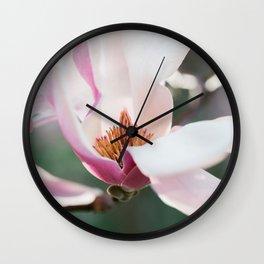 Blooming Magnolia Wall Clock