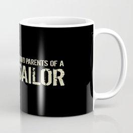 Proud Parents of a Sailor Coffee Mug