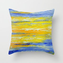 Once in the sky Throw Pillow