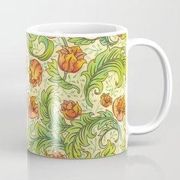 Nouveau Flowers Coffee Mug