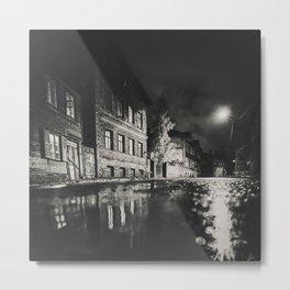Dark alley. Metal Print