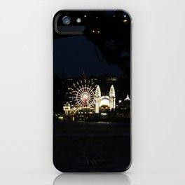 Luna Park by the Harbour iPhone Case