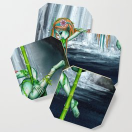 Pole Creatures - Water Nymph Coaster