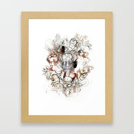Theseus Framed Art Print