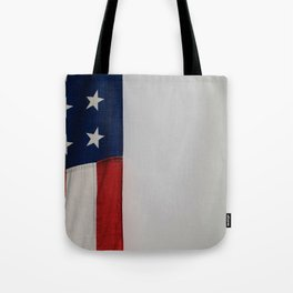Side Flag (Color) Tote Bag