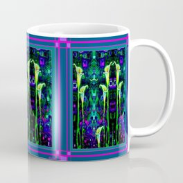 Modern Art Noveau Calla Lily Design Coffee Mug