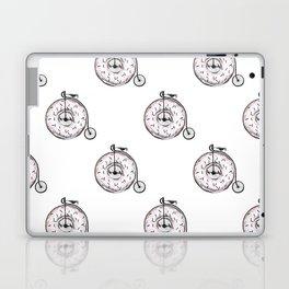 Donut Ride My Bicycle Laptop & iPad Skin
