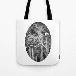 Desert Night Owl Tote Bag