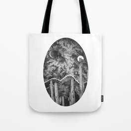 Desert Night Owl Tote Bag