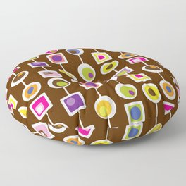 Mod Love Chocolate Floor Pillow