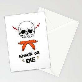 Knack Or Die Stationery Cards