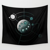 destiny Wall Tapestries featuring Hope (destiny) by Alec Hawkins