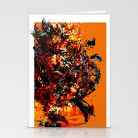 metal gear Stationery Cards featuring metal gear by ururuty