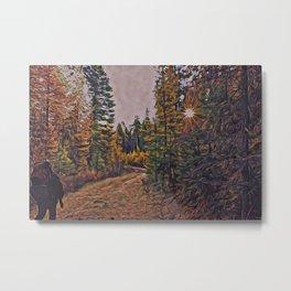 Backwoods Metal Print