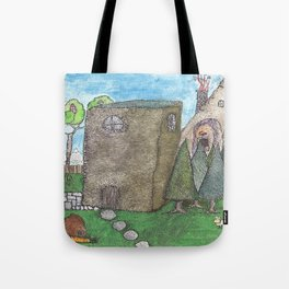 The Summer House Tote Bag