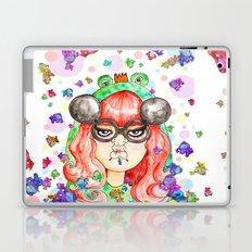 Miss Frog Laptop & iPad Skin