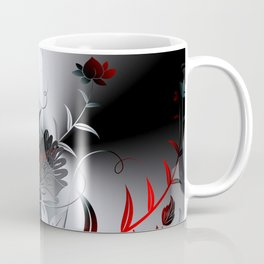 Metallblumen Coffee Mug