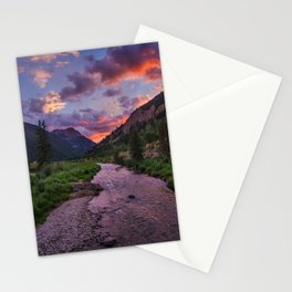 A River Runs Through It Stationery Cards