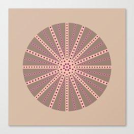 Erizo Pink Canvas Print