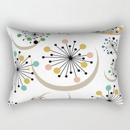 Mid Century Modern Starbursts 1 Rectangular Pillow