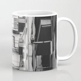 Greece in Black and White Coffee Mug