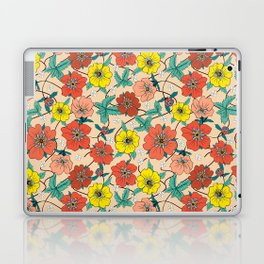 Potentillas and Daisies Laptop & iPad Skin