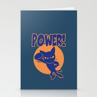 power Stationery Cards featuring Power! by BATKEI
