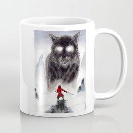 The Wolf of Bushido Coffee Mug