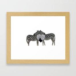 furr Framed Art Print