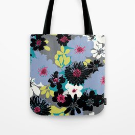 Ava Summer Blue Tote Bag