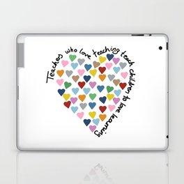 Hearts Heart Teacher Laptop & iPad Skin
