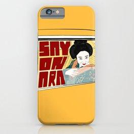 Sayonara iPhone Case