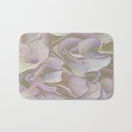 FADED HYDRANGEA CLOSE UP Bath Mat
