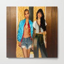 Kehlani x Hayley Kiyoko Metal Print