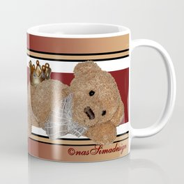 My home, My Kingdom - Creme Coffee Mug