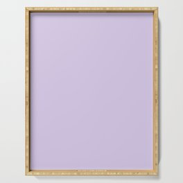 Light purple Serving Tray