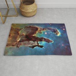 Pillars of Creation, M16, Eagle Nebula Deep Space Telescopic Photograph Rug