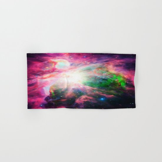 Orion NebuLA Colorful Purple Hand & Bath Towel